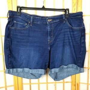 Levi's Women' Plus Size Denim Blue Jean Shorts 20W